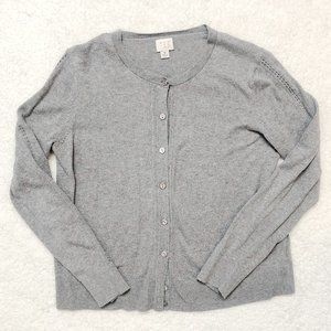 Long Sleeve Gray Cardigan